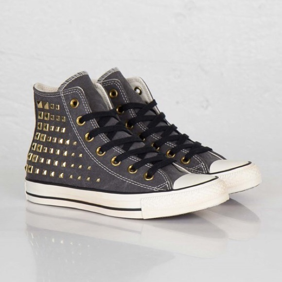 ad5bb461ad34 NIB Converse Studded High Top Sneakers